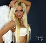 blonde Stripperin aus Stuttgart